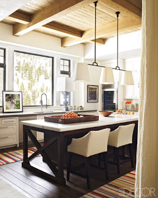 Design in the Woods: April 2012 - Kitchen Island With Booth Seating