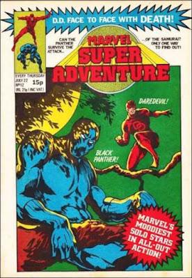 Marvel Super Adenture #12, Daredevil