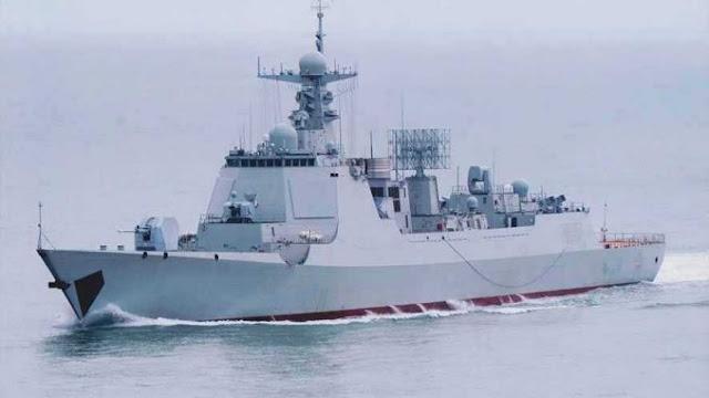 6 Kapal Perang AL China Nongol Di Laut Natuna Utara, Nelayan Ketar-Ketir