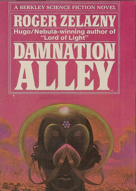 Cover of 1970s US version of Damnation Alley