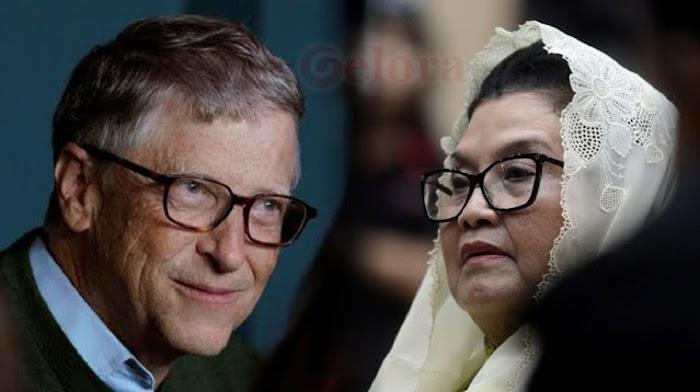 Eks Menkes Siti Fadilah Sentil WHO, Bill Gates dan Bisnis Vaksin Dunia