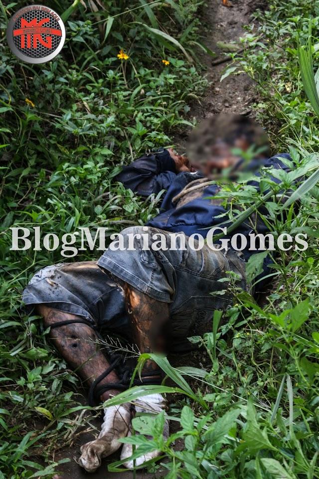 Homem é encontrado morto com tiros de calibre 12 em Colombo