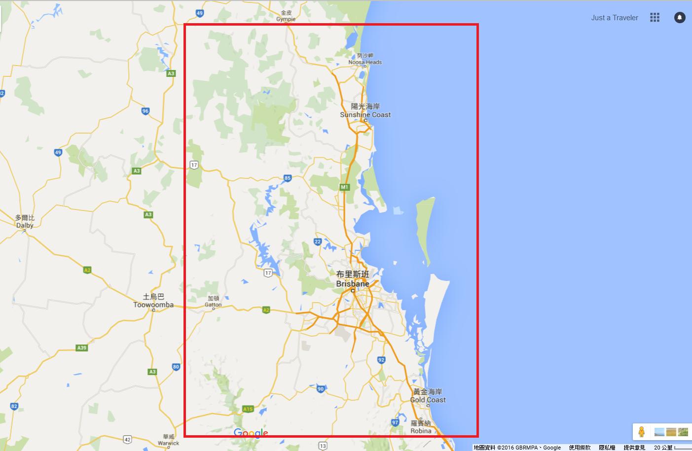 布里斯本-交通-介紹-黃金海岸-SeeQ Card-地圖-Map-巴士-公車-火車-渡輪-輕軌-Brisbane-Gold-Coast-Public-Transport