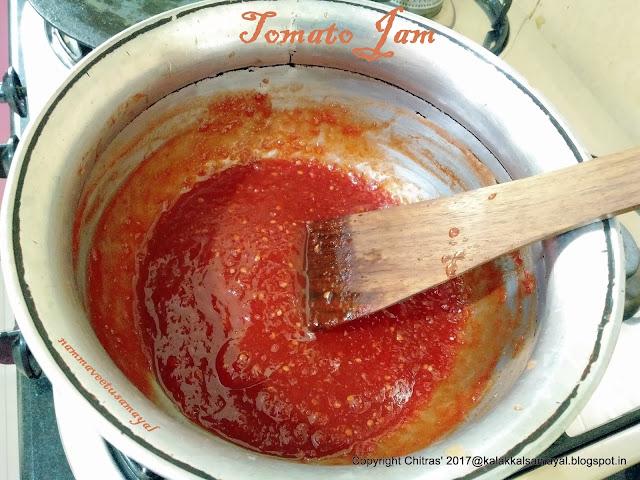 Thakkali Jam [ Tomato Jam ]