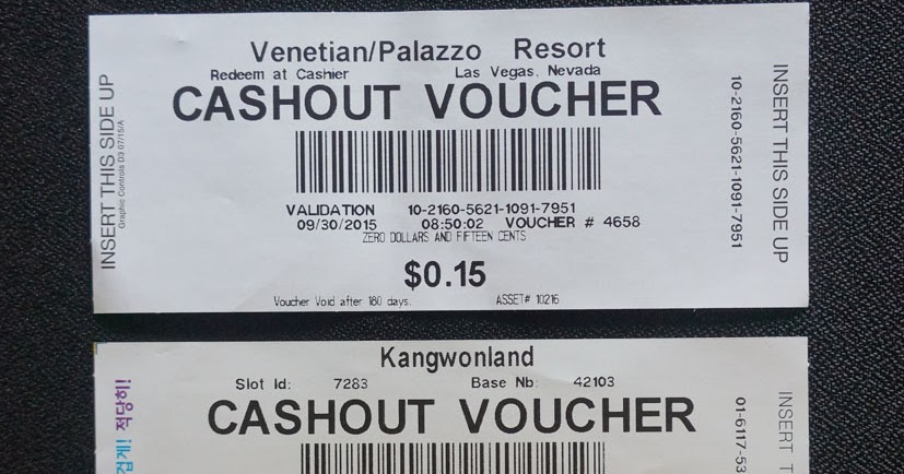 Forgot To Cash Casino Voucher