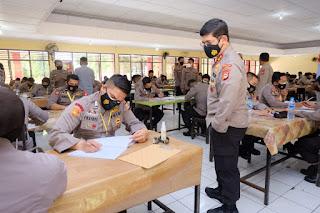Dipantau Langsung Kapolda Sulsel Tes NKP, Peserta SIP 2021 Tambah Semangat