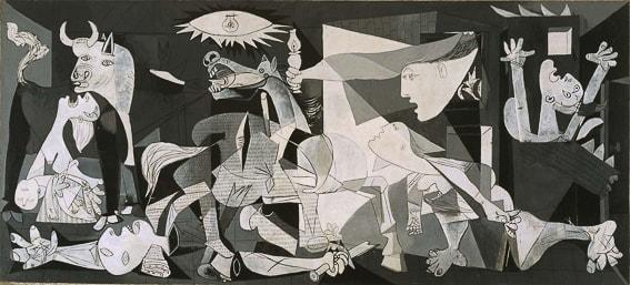 El Guernica. Picasso. Musseo Reina Sofia