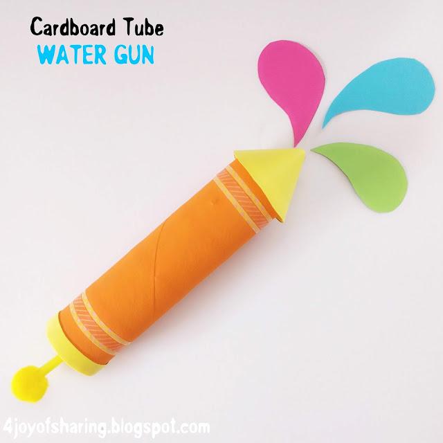 Can U Use Water Gun To Craft
