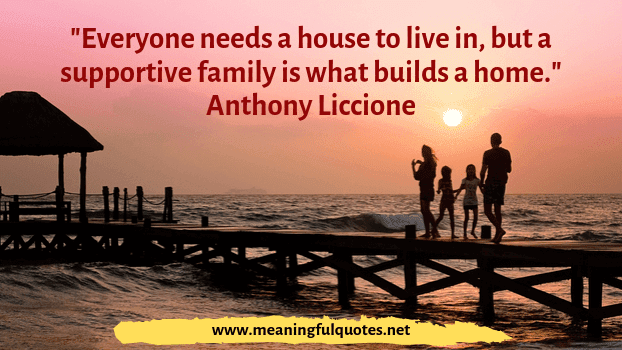 a family quotes and sayings