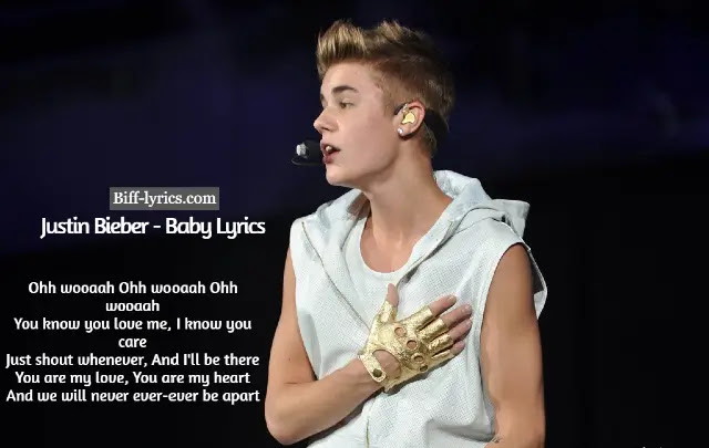 Justin Bieber - Baby Song Lyrics Download