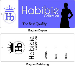 Label Baju Habibie