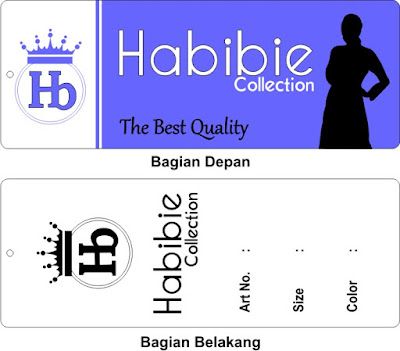 Label Baju Habibie