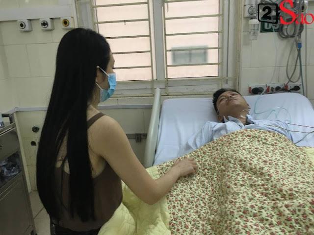 Tuấn Hưng nhập viện