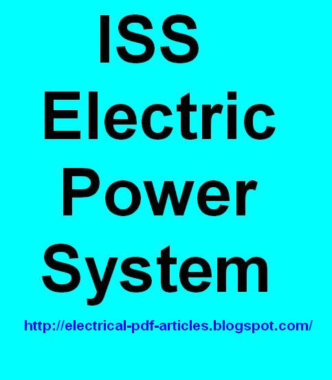 Electrical-Articles-PDF : ISS Electric Power System