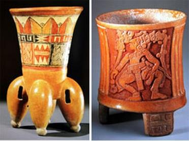 Cer mica de la cultura maya historia del per for Que es ceramica