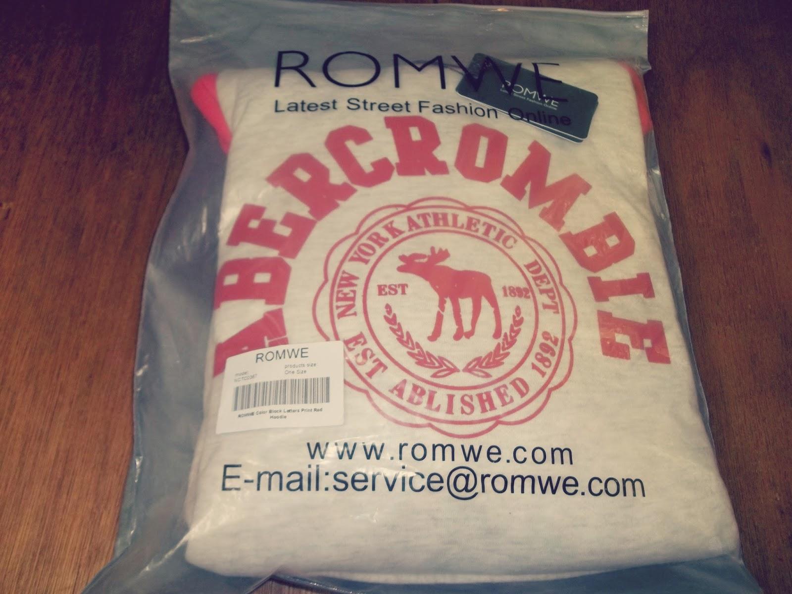 Online Shopping Romwe Haul