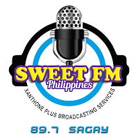 89.7 Sweet FM Sagay City logo