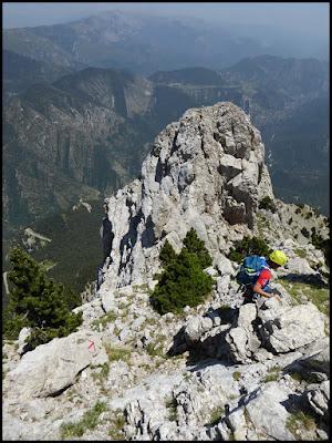Pedraforca, del Gat hacia el Calderer
