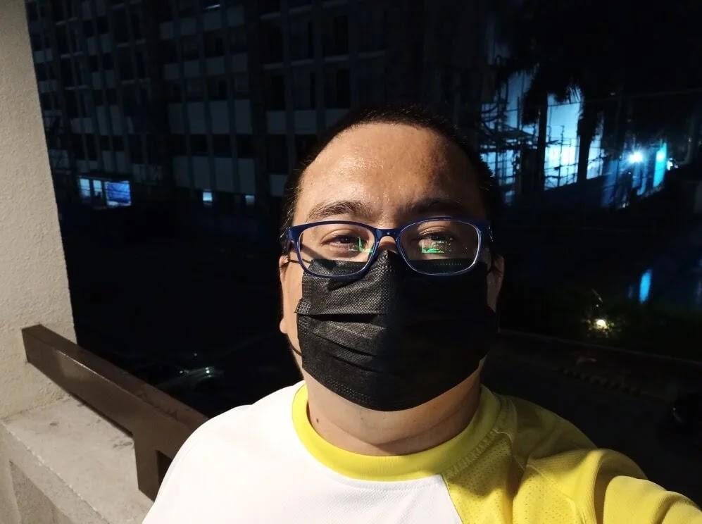 UMIDIGI Bison Camera Sample - Night Selfie