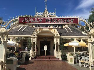 Jolly Holiday Bakery Cafe Disneyland Main Street USA