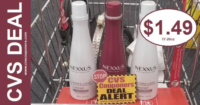 Cheap Nexxus Shampoo CVS Deal 12-15-12-21
