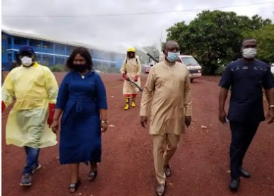 Enugu Gov't Flags Off Decontamination Of Schools For Resumptions (Photos)