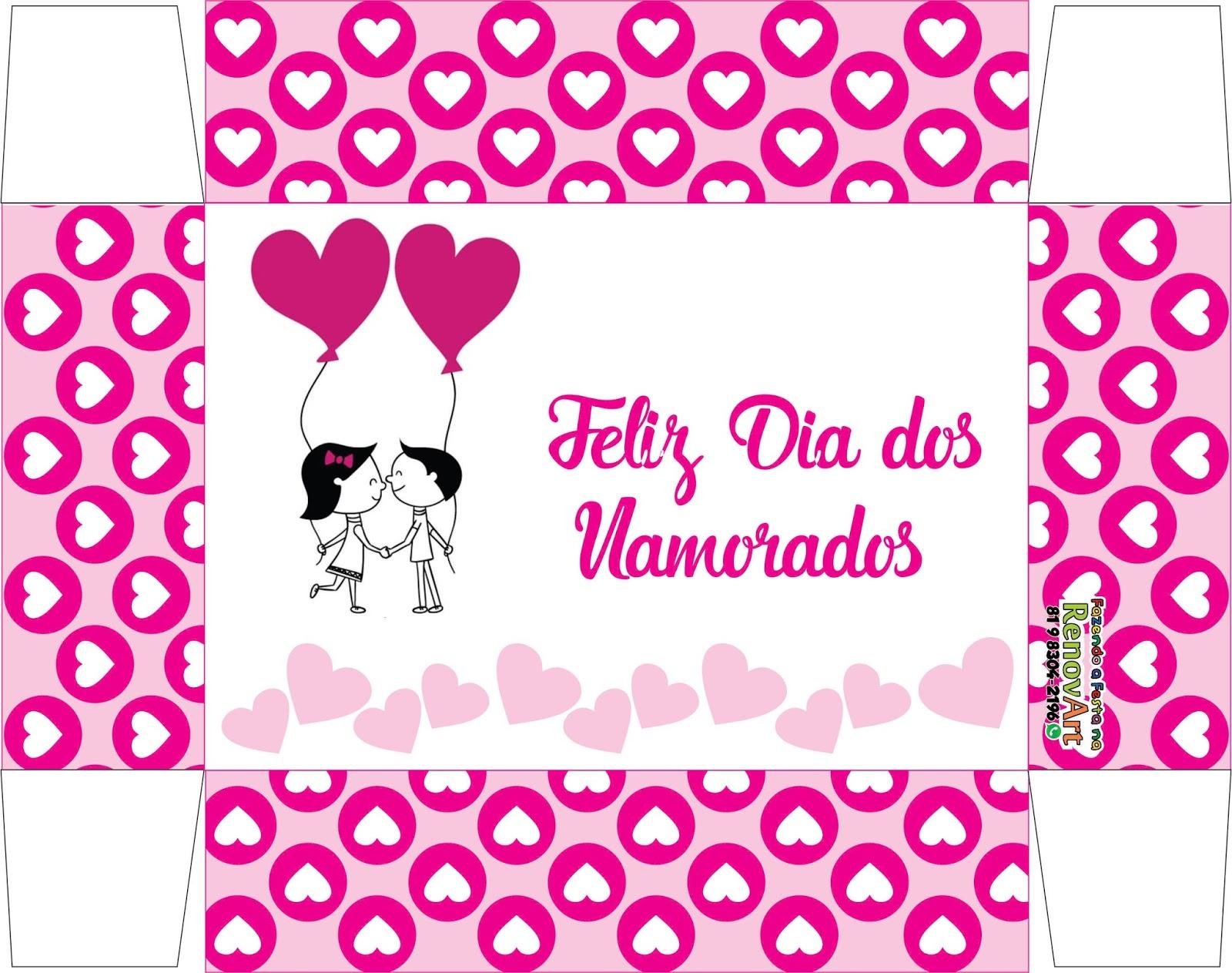 Dia Dos Namorados: Renovart Brindes E Personalizados : Caixa Para Bombons Dia