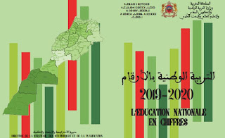 """مديرية الاستراتيجية والاحصاء والتخطيط  تنشر """"التربية الوطنية بالأرقام 2019-2020 """""""