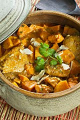 Thai Chicken & Sweet Potato Curry w/ Coconut Milk