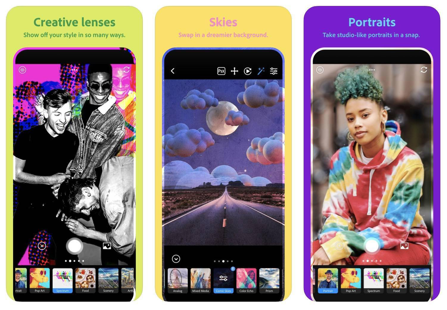 Adobe Launches 'Photoshop Camera' App on iPhone
