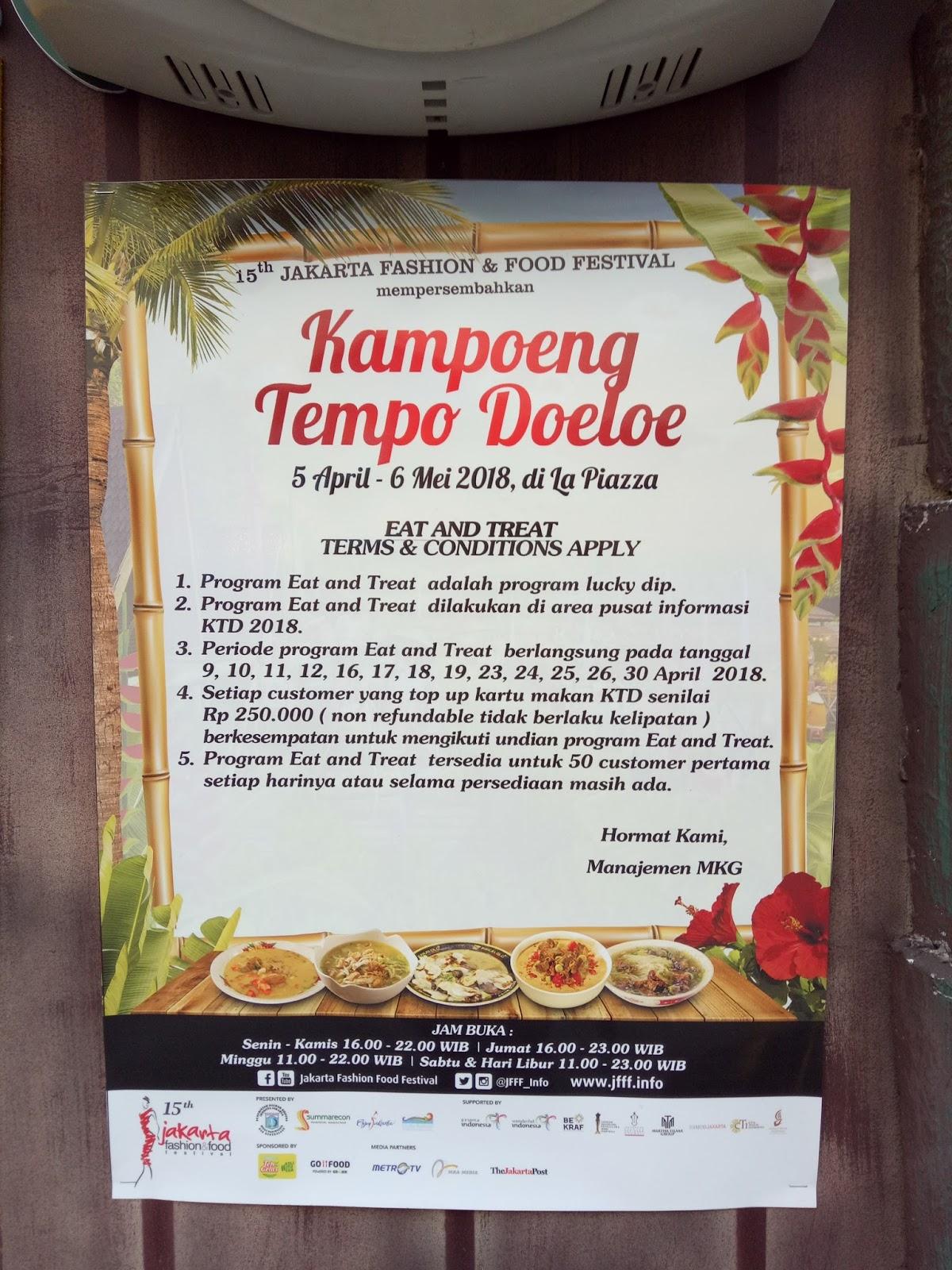 Traveler Modis Wisata Kuliner Asyik Di Kampoeng Tempo Doeloe