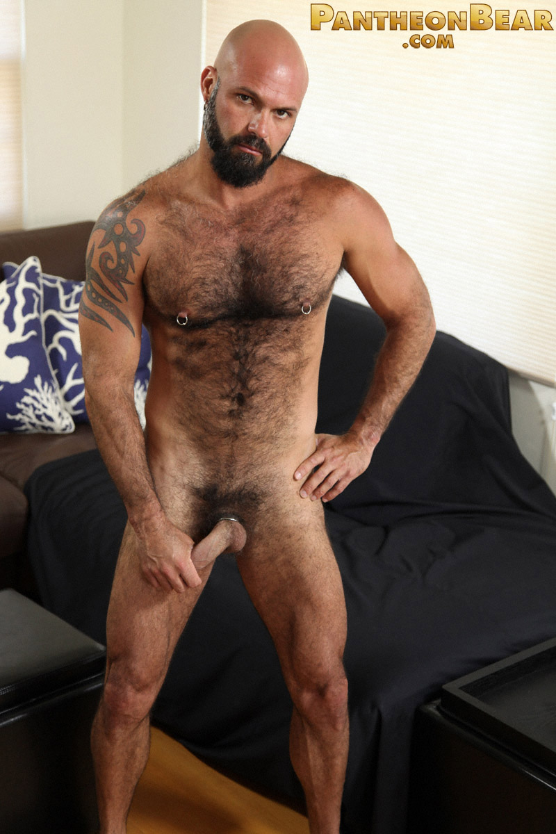 Hairy Hunk Marco Rios Jerks Off  Hairy Guys In Gay Porn-9757