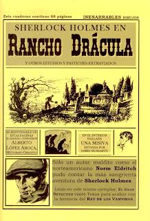 Sherlock Holmes en Rancho Drácula, por Alberto López Aroca