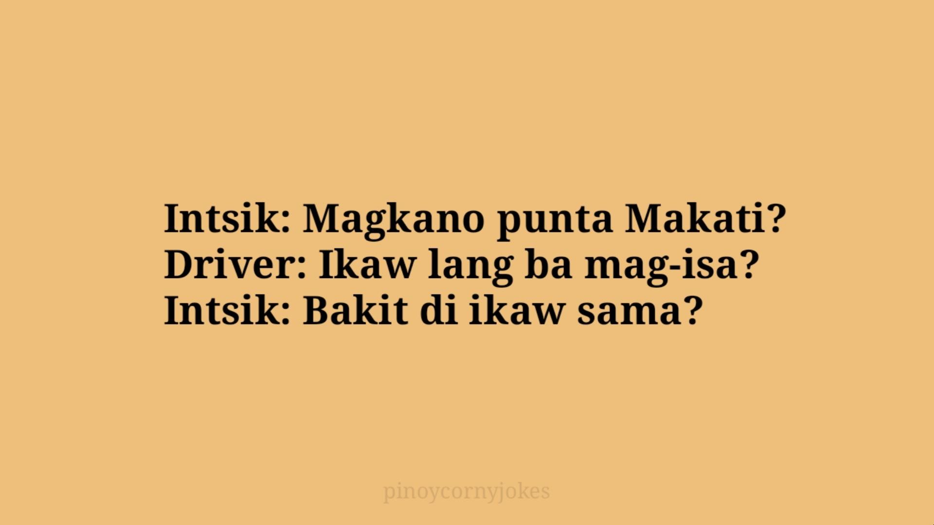 intsik pinoy jokes 2021