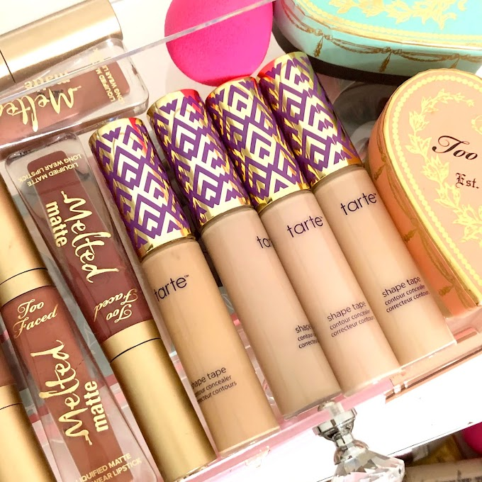 Tarte Shape Tape Concealer Swatches