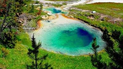 Bluebell Pool West Thumb Yellowstone National Park
