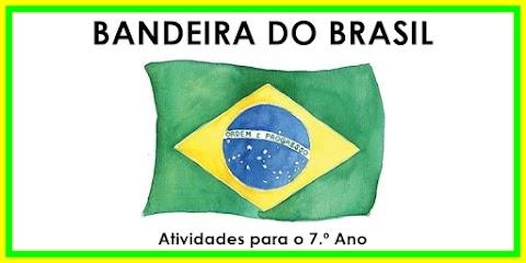 Bandeira do Brasil - Língua Portuguesa para o 7.º Ano
