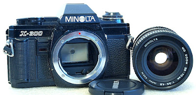 Minolta X-300 (Black) Body #926, Minolta MD Zoom 35-70mm 1:3.5~4.8 #936
