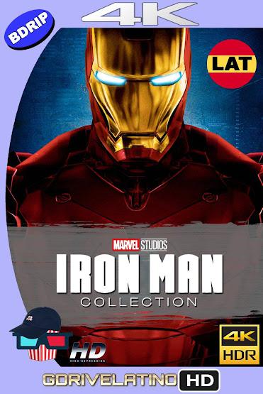 Iron Man Colección (2008-2013) BDRip 4K HDR Latino-Ingles MKV