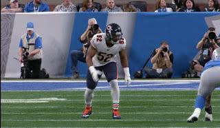 Chicago Bears linebacker Kalil mack