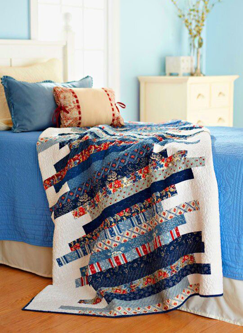 Skinny Strips Quilt - Free Pattern