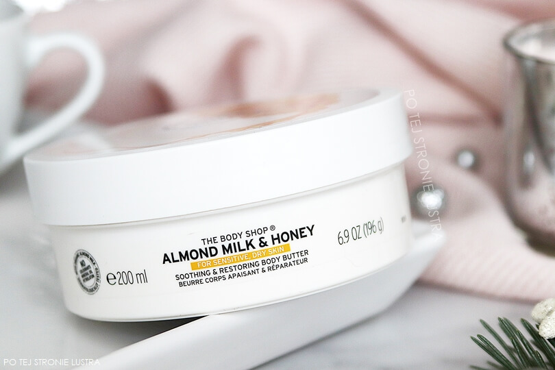 almond milk & honey the body shop