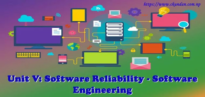 Unit V: Software Reliability - Software Engineering