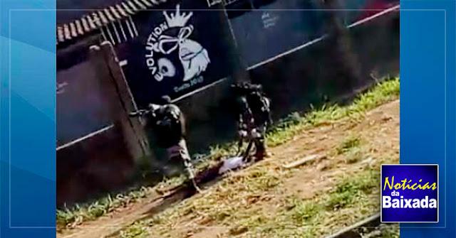 Elemento morre em confronto com a polícia em comunidade na Baixada Fluminense