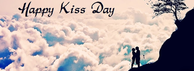 Happy Kiss Day Facebook Cover Photo Download