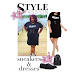 Killin It Over 40 Plussize Lace Up Dress