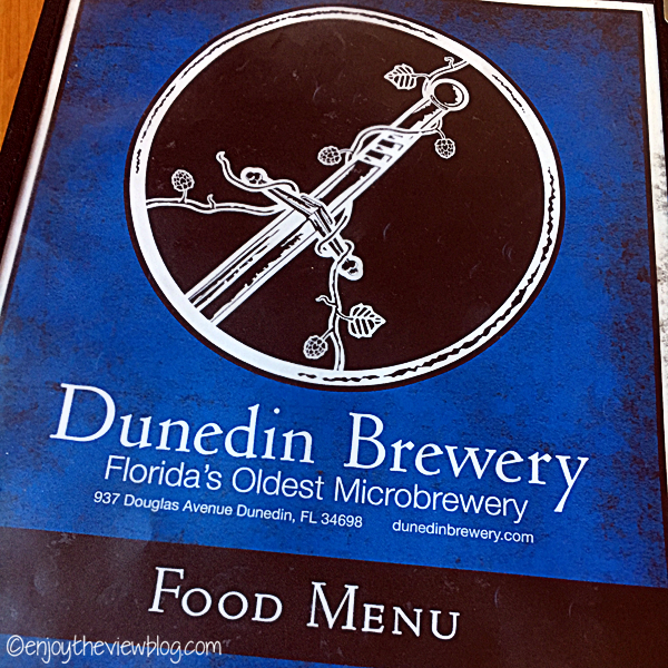 Dunedin Brewery food menu