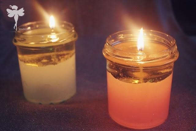 jak zrobić wodną świeczkę