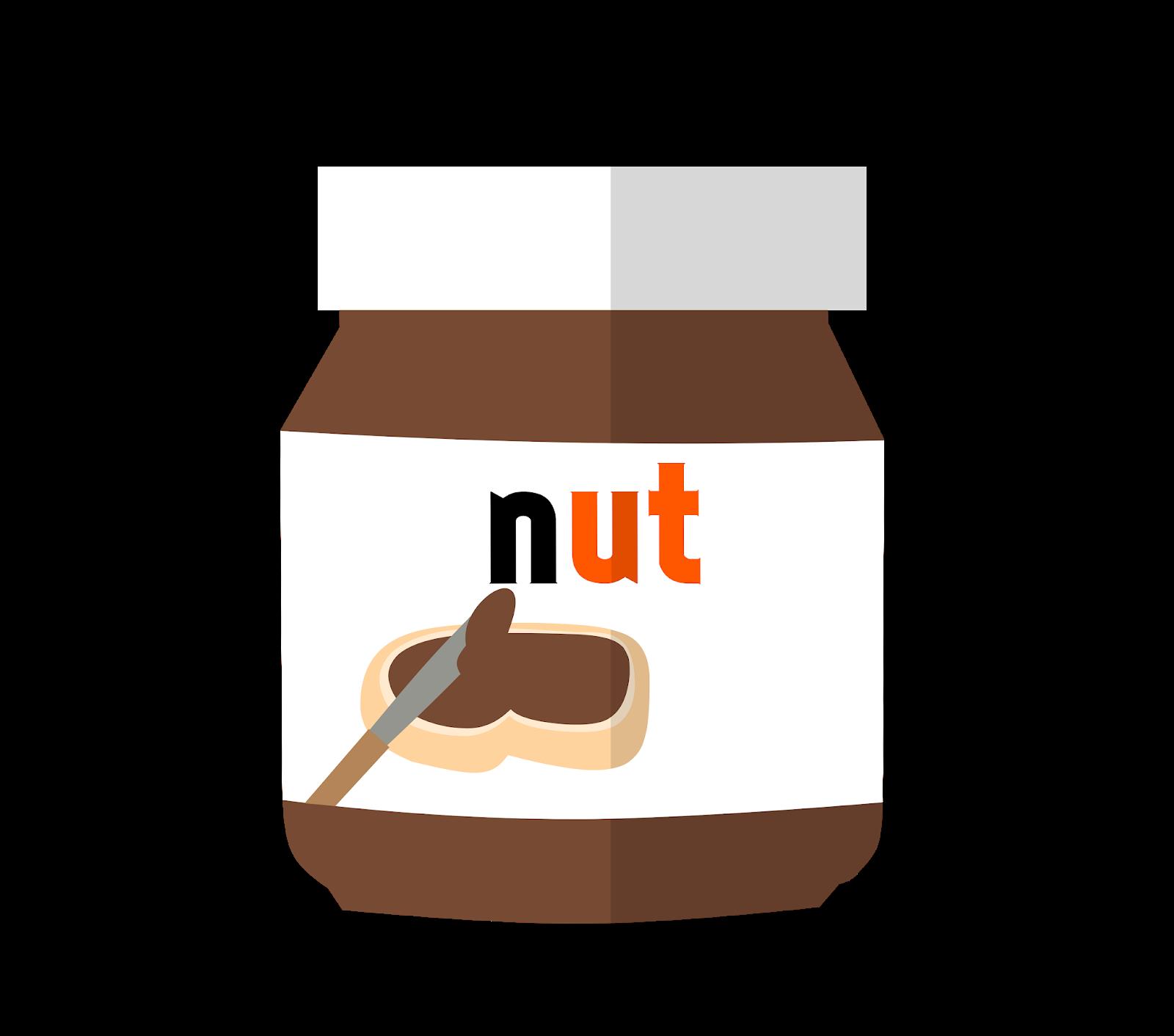 Nutella chocolate illustration