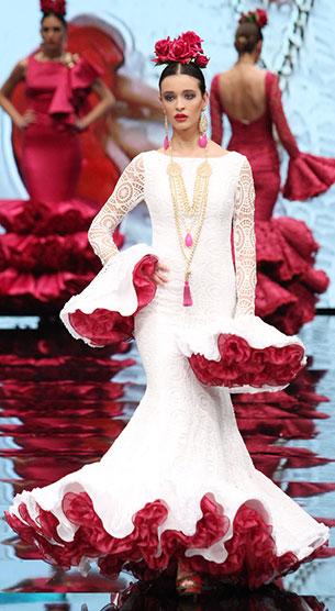 traje flamenca 2017 Carmen Vega